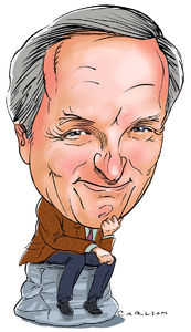 Caricature, TV, film, actor, author, Alan Alda, M*A*S*H, MASH