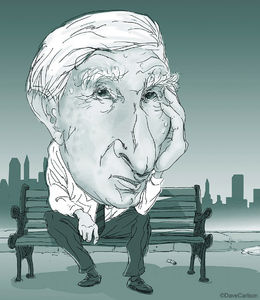 caricature, author, John Updike